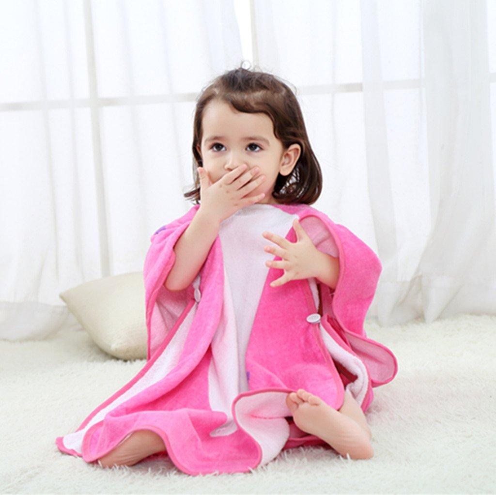 Zilee Kids Hooded Poncho Bath Towel - Boys Girls Cotton Bathrobe Swim Beach Blanket by Zilee (Image #5)