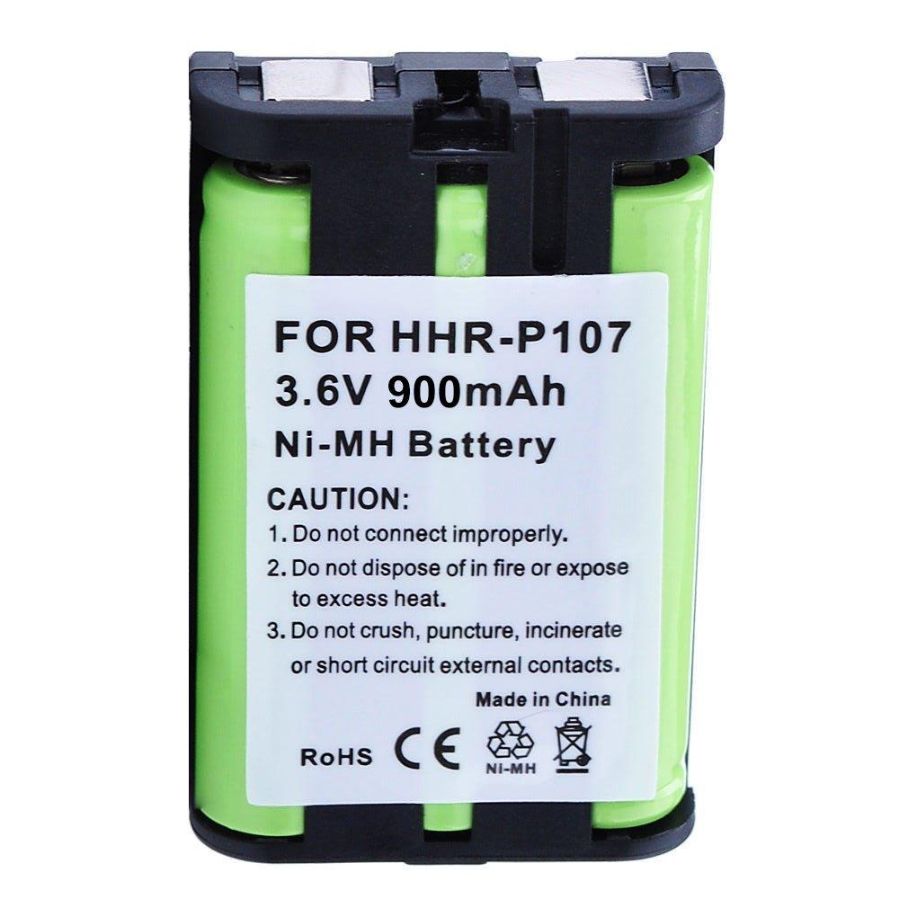 Panasonic KX-TG6052 Battery - Replacement for Panasonic Cordless Phone Battery (900mAh, 3.6V, NI-MH) by Olympia Battery (Image #1)