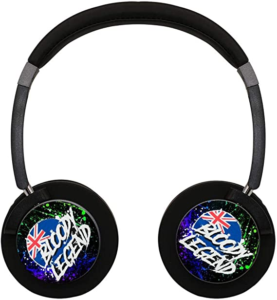 Wireless Headphones La_B1oody_Legend Bluetooth Over Ear Game Headset Noise Canceling