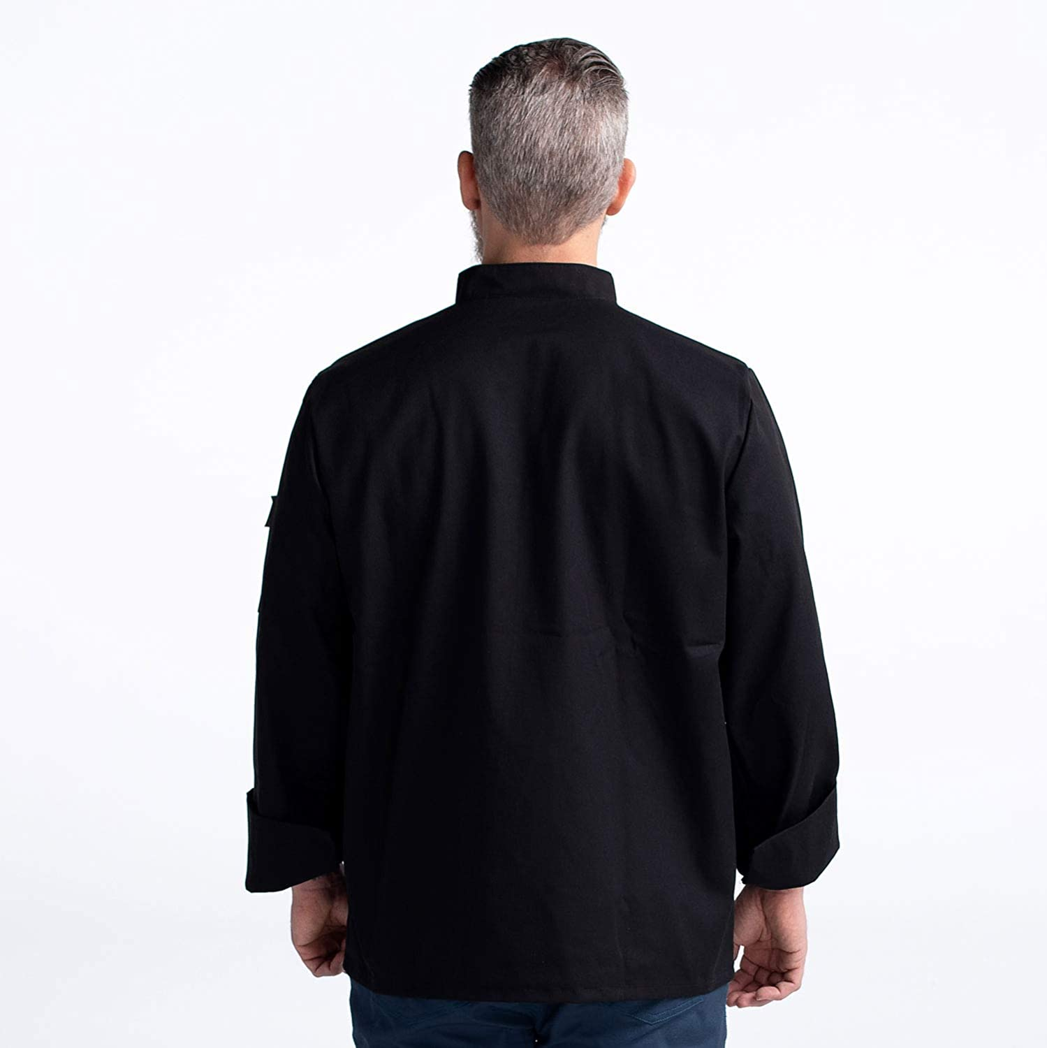 Chefwear Chef Jacket Long Sleeve Primary Cloth Knot Button