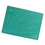 RedSonics - PVC Rectangle Self Healing Cutting Mat Tool A4 Craft Dark Green 30cm 22cm