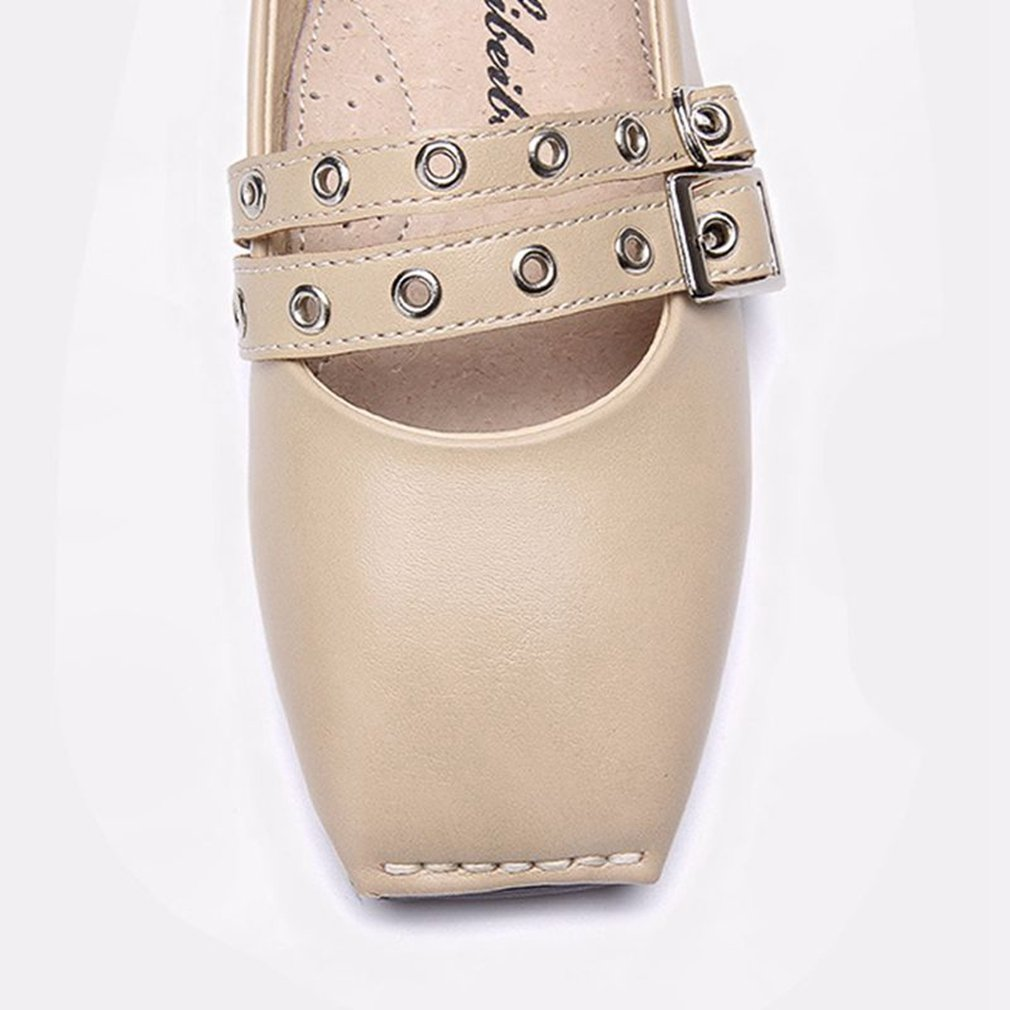 CYBLING Girls Adorable Buckle Mary Jane Shoes Casual Slip On Ballerina Flat Toddler//Little Kid//Big Kid