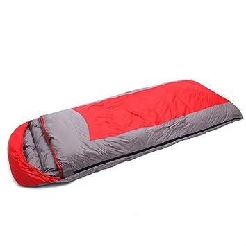 S Down Sobres Sacos De Dormir Camping De Senderismo Sacos De Dormir Ultra Ligeros Y Compactos Se Pueden Utilizar Como Mantas O Colchonetas,Red-220*85cm: ...