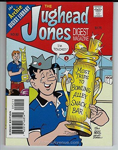 Jughead Jones Digest Magazine, The #92 VF ; Archie comic book (Jughead Jones)