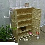 Rattan shoe rack shoebox simple storage cabinet shoebox multifunctional dustproof shoe rack multi-shoe rack-B
