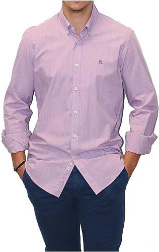 MAKARTHY - Camisa French Dots Hombre Color: 240 Rojo Talla: Size XXL: Amazon.es: Ropa y accesorios