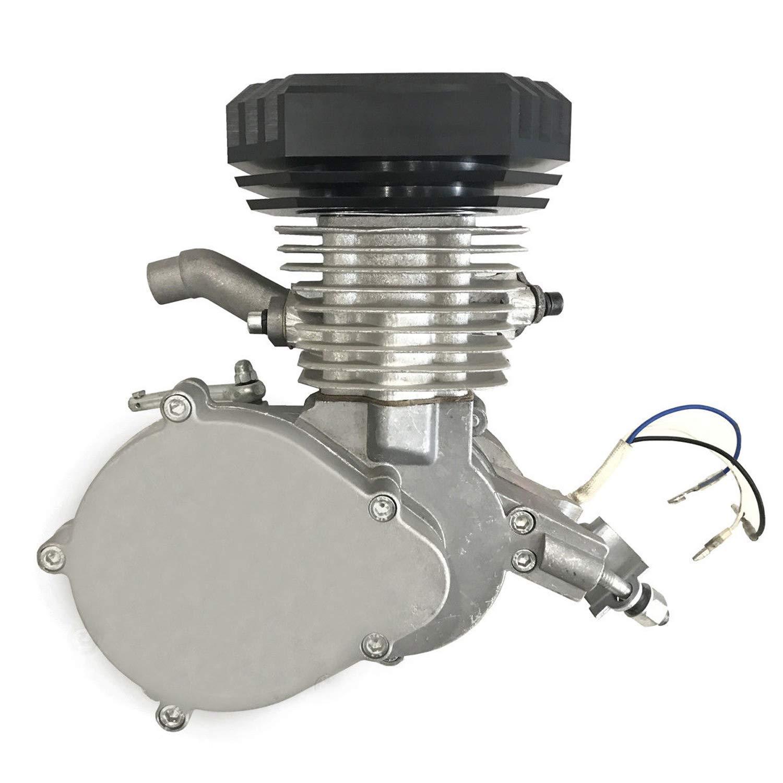 CDHpower 2 Stroke pk80 66cc/80cc Engine Motor w/Diamond Type Racing Head - Gas Motorized Bicycle 66cc/80cc by CDHpower