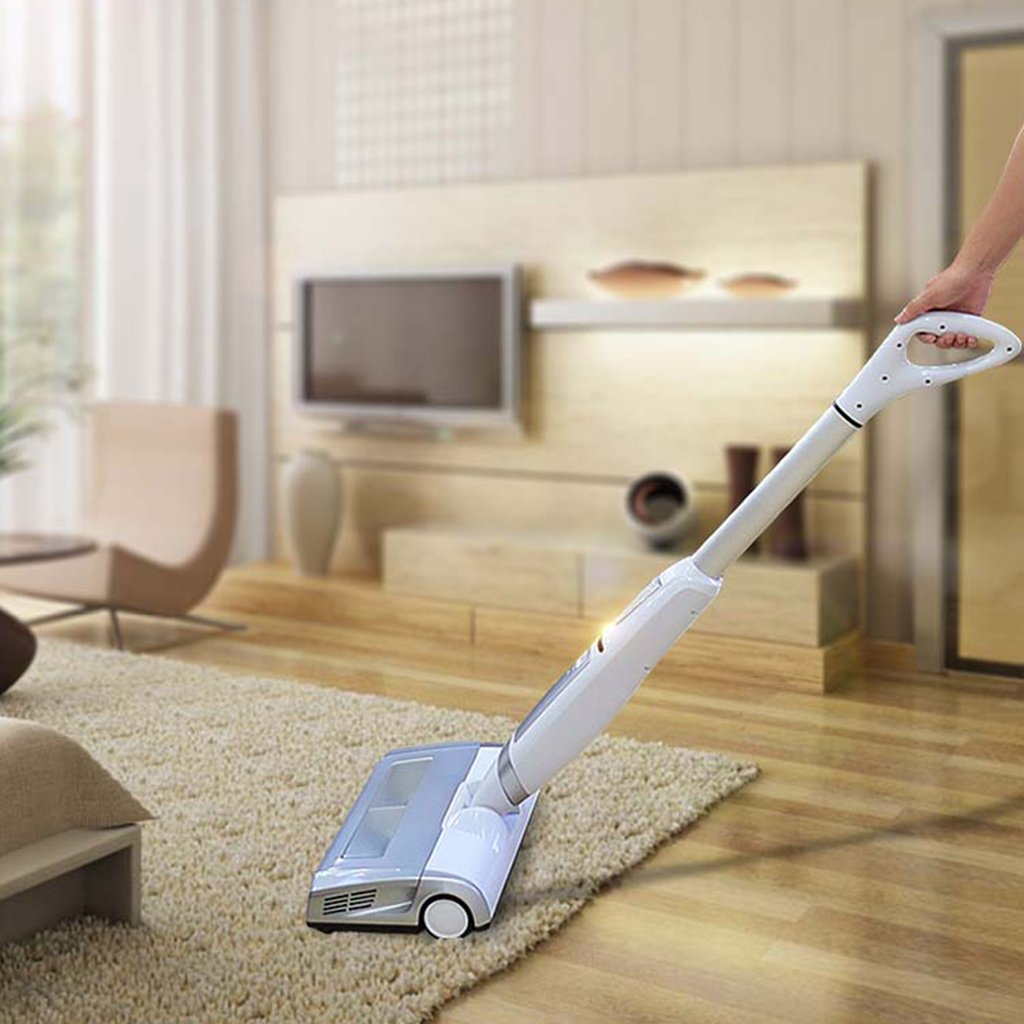 Jili Online Household Business Handle Push Vacuum Cleaner Cordless Quiet Cleaner-US Plug by Jili Online (Image #4)