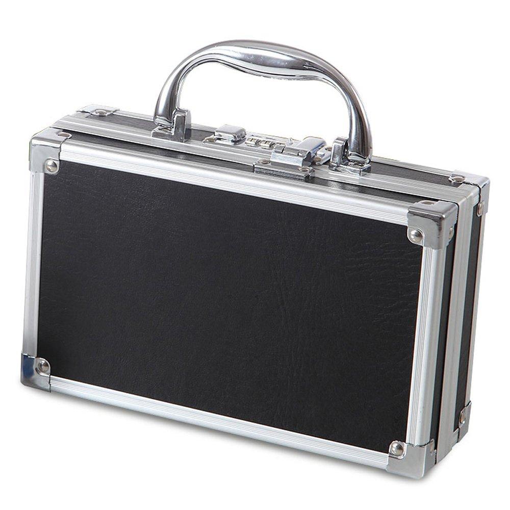 HuAma Portable Haushalt Haushalts Medizin Aufbewahrungsbox Handheld Passwort Sperre Erste-Hilfe-Kasten Medizinische Diagnose Box Medizin Box