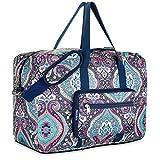 Travel Foldable Waterproof Duffel Bag - Lightweight Carry Storage Luggage Tote Duffel Bag