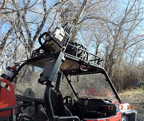Universal UTV Roll Bar Chainsaw Mount RCM-3012 by Hornet Outdoors (Image #6)