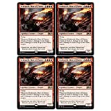 Magic: The Gathering - Drakuseth, Maw of Flame - Core Set 2020 - x4 Card Lot Playset - 136/280 Rare