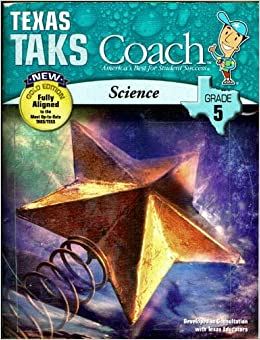 Texas TAKS Coach, New Gold Edition, Science, Grade 5 (Coach, America's Best for Student Success)