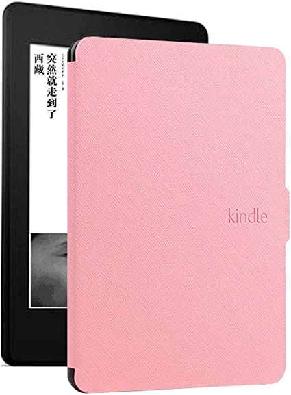 DATOUDATOU E-Reader Funda para Kindle 8 Generación Piel Ebook Hard ...
