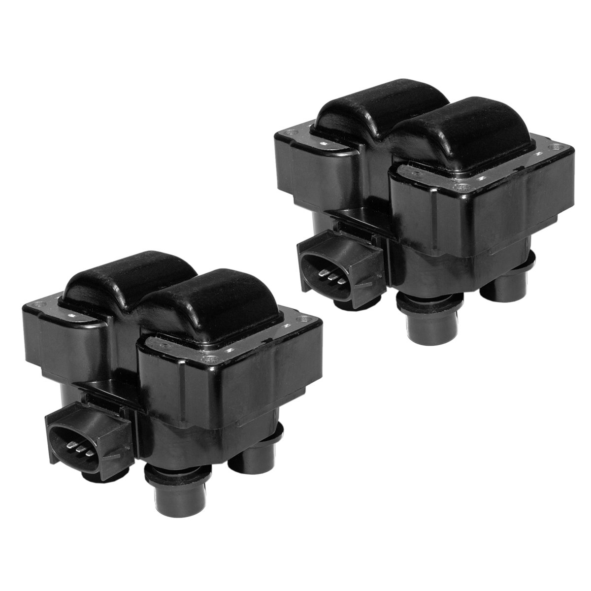 Combo pack of Ignition Coils for Ford Lincoln Mercury C924 FD-487 FD487 DG530 Fd480 490 F510 5c1117 178-8222 E96 52-1967 FD487 DG523 19017116 DG435 DG449 DG454 DG457 DG458 DG460 DG461 (SET OF 2)