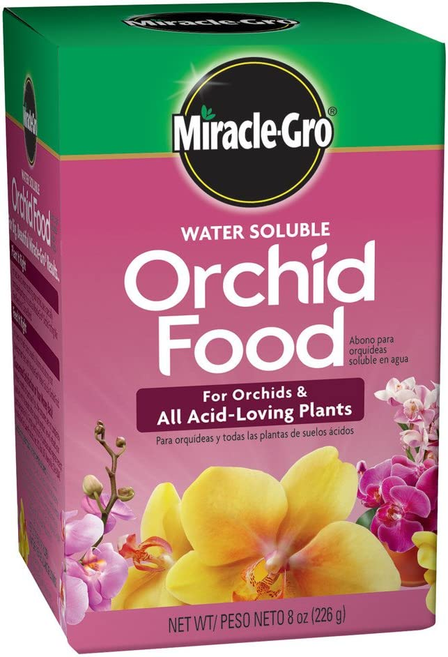 Miracle-Gro 1001991 Orchid Food Orchid Fertilizer (12 Pack), 8 oz