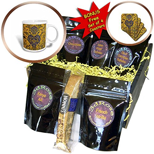 3dRose Danita Delimont - Artwork - Central Iran, Esfahan, Bethlehem Armenian Church, Interior - Coffee Gift Baskets - Coffee Gift Basket (cgb_276842_1) by 3dRose