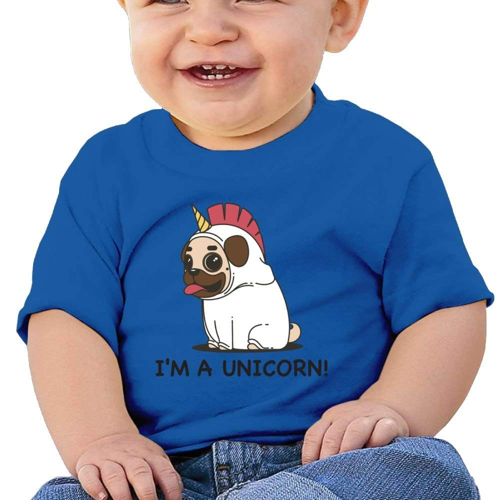Short-Sleeves Shirt Unicorn Dog I Am A Unicorn Birthday Day Baby Boys