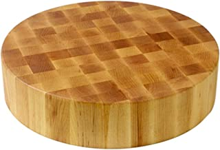 product image for John Boos Block CCB18-R Classic Collection Maple Wood End Grain Round Chopping Block, 18 Inches Round x 4 Inches