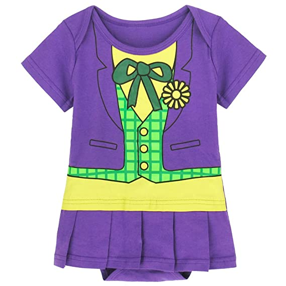 Traje infantil inspirado en Joker. 12-18 Meses: Amazon.es ...