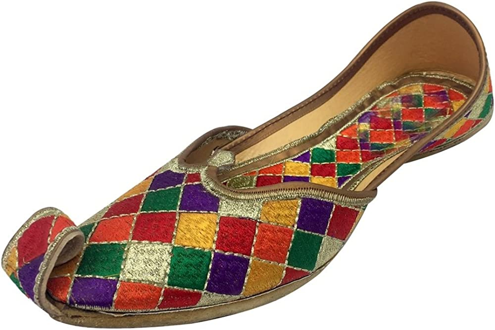 Step n Style Dress Shoes for Women Ethnic Designer Shoes Wide Shoes Punjabi Jutties