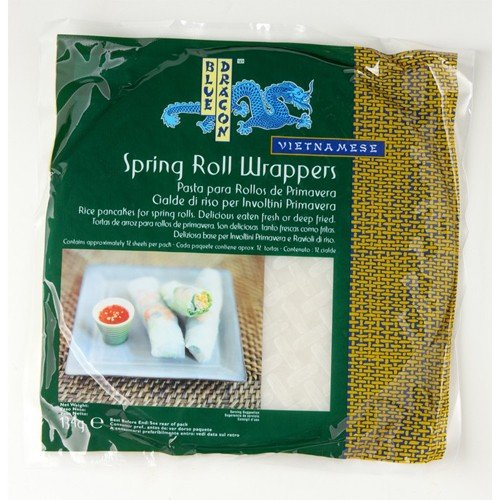 (12 PACK) - Blue Dragon - Spring Roll Wrappers | 134g | 12 PACK BUNDLE by Blue Dragon
