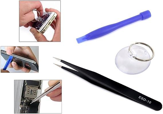 Repair-Kits JF-8163 7 in 1 Battery Repair Tool Set for iPhone 8