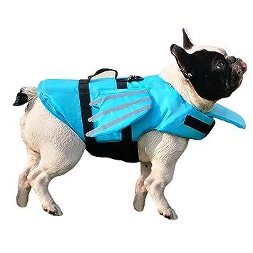 Amazon.com: SUNFURA Chaleco salvavidas para perro, chaleco ...