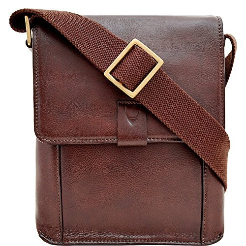 Hidesign Aiden Genuine Leather Small Crossbody Messenger Bag d736855af63c5