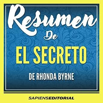 amazon com resumen de el secreto de rhonda byrne summary of the