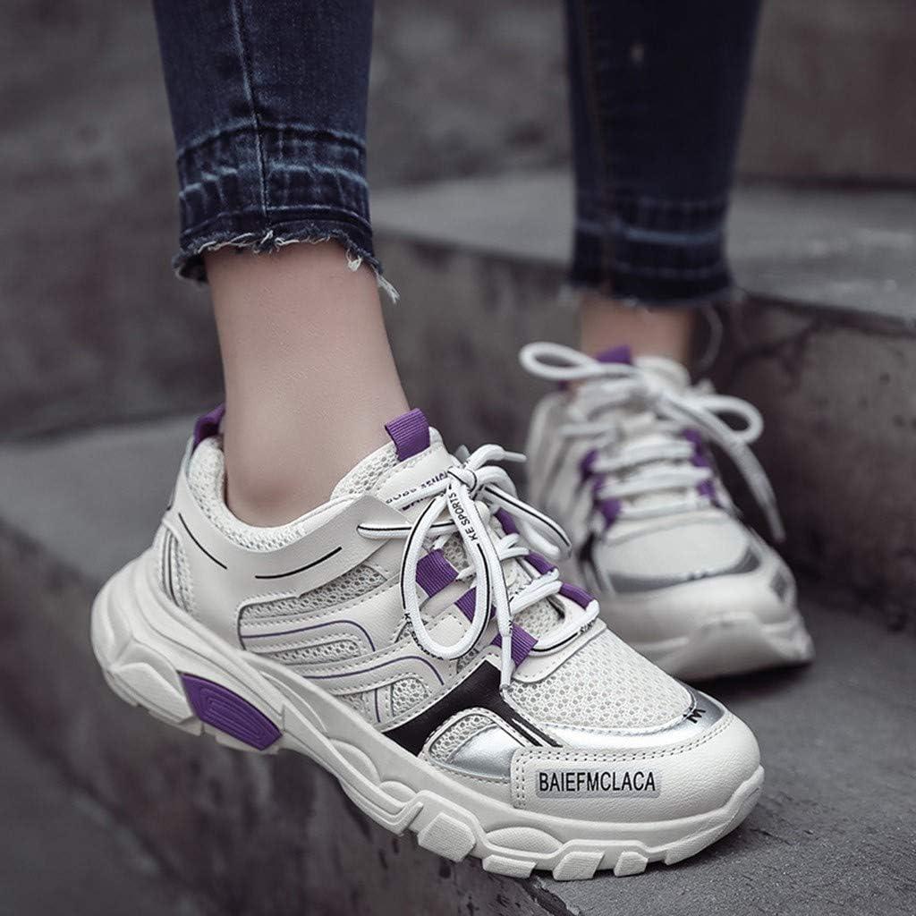 POLPqeD Donna Chunky Sneakers Sportive Scarpe Comodo Casual
