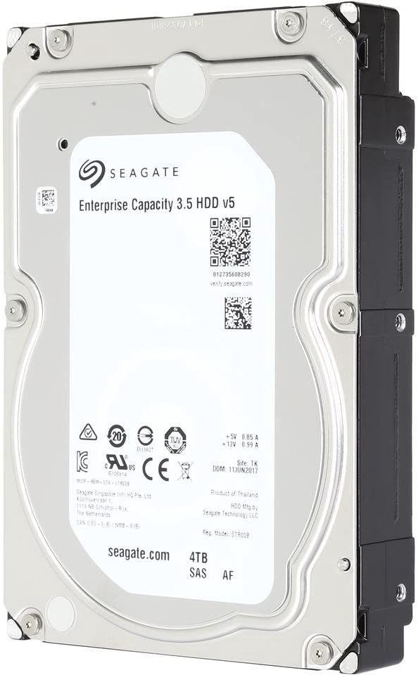 Seagate Enterprise Capacity 3.5 4TB HDD 7200rpm SA