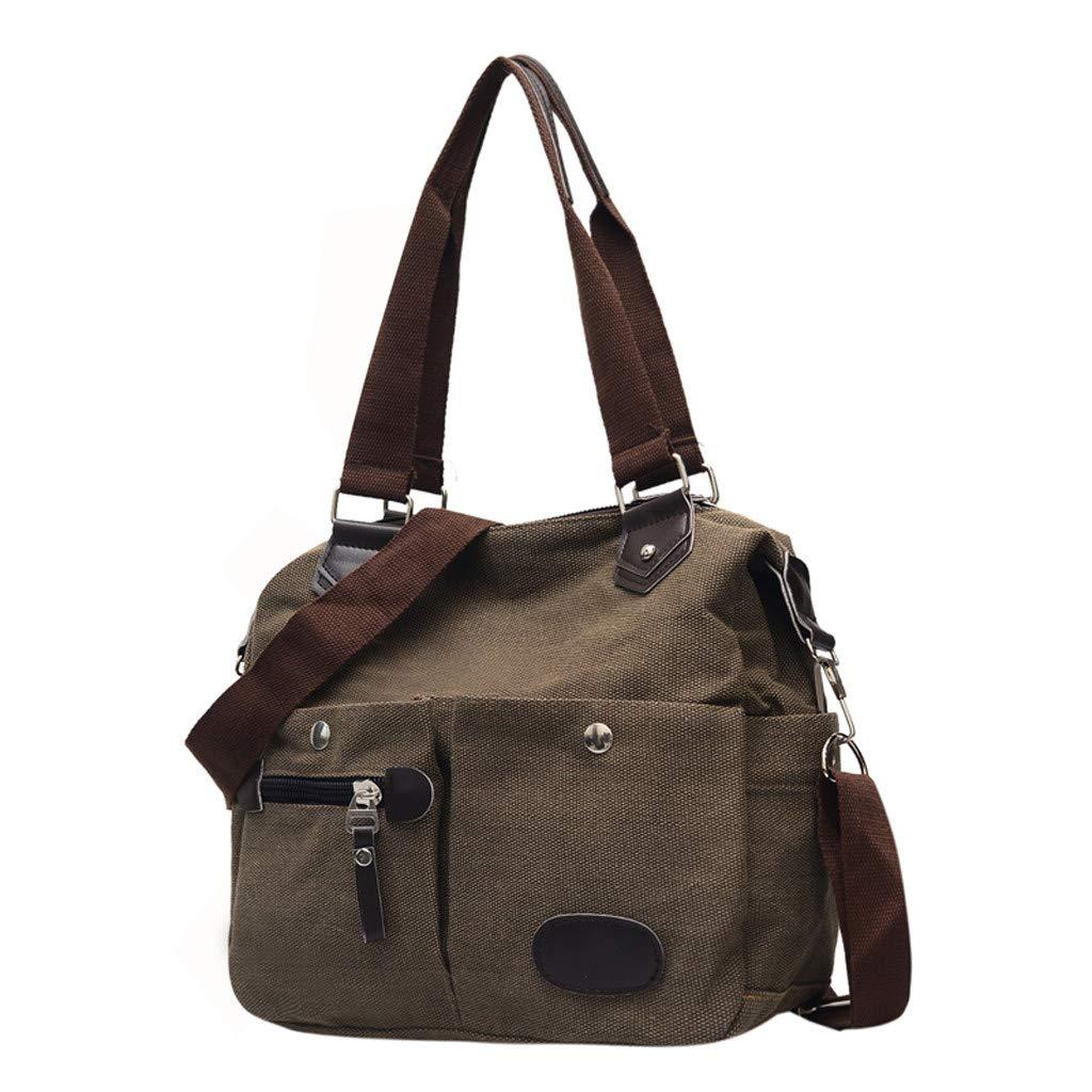 Shiningo women canvas hobo shoulder crossbody tote handbag Messenger