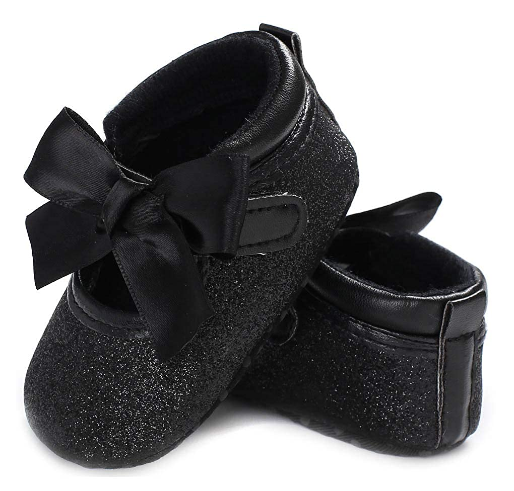 Anrenity Baby Girls Mary Jane Ballet Flats Shoes Toddler Infant Princess Dress Crib Shoes