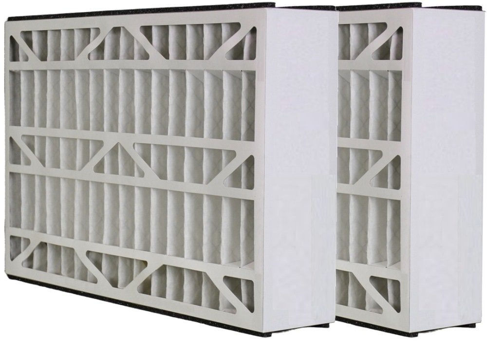 2 Pack 15.63x24.13x4.88 MERV 8 Aftermarket Skuttle Replacement Filter 16x25x5