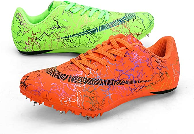 Atletismo Spikes Uña Zapato Running Training Sneakers Zapatos Profesionales Sprint Spikes Calzado Deportivo De Atletismo para Atletismo Al Aire Libre En Forma Hombres Sra: Amazon.es: Zapatos y complementos