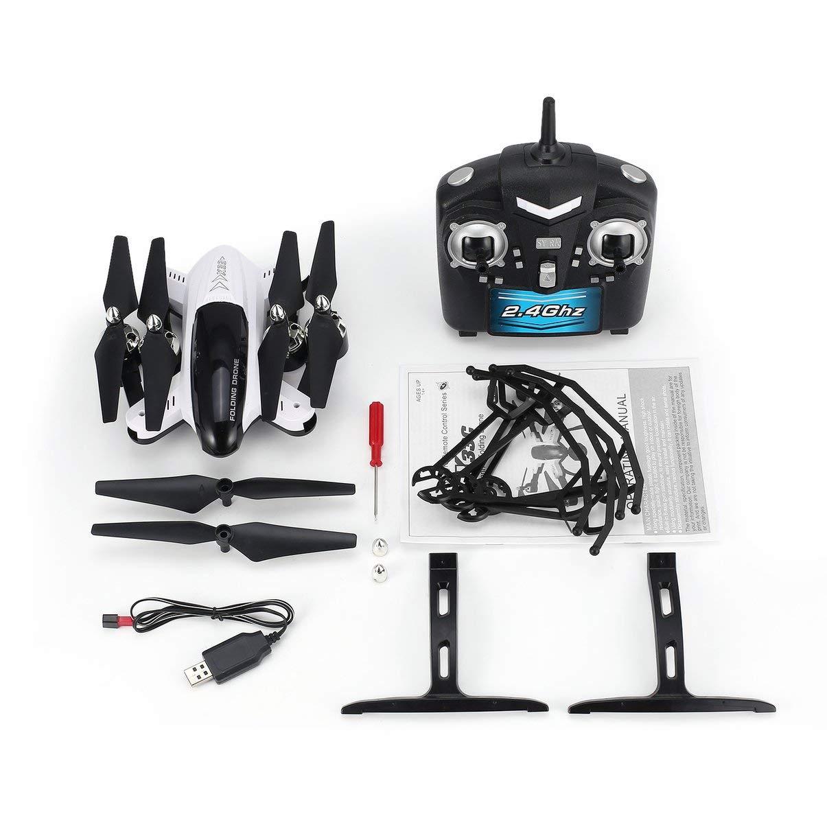 JullyeleDEgant x33c 1 Faltbare Smart RC 2.4G RC Quadrocopter Drohne Flugzeuge mit Höhenstand Headless Modus 3D Schläge EIN Schlüssel zum Abheben