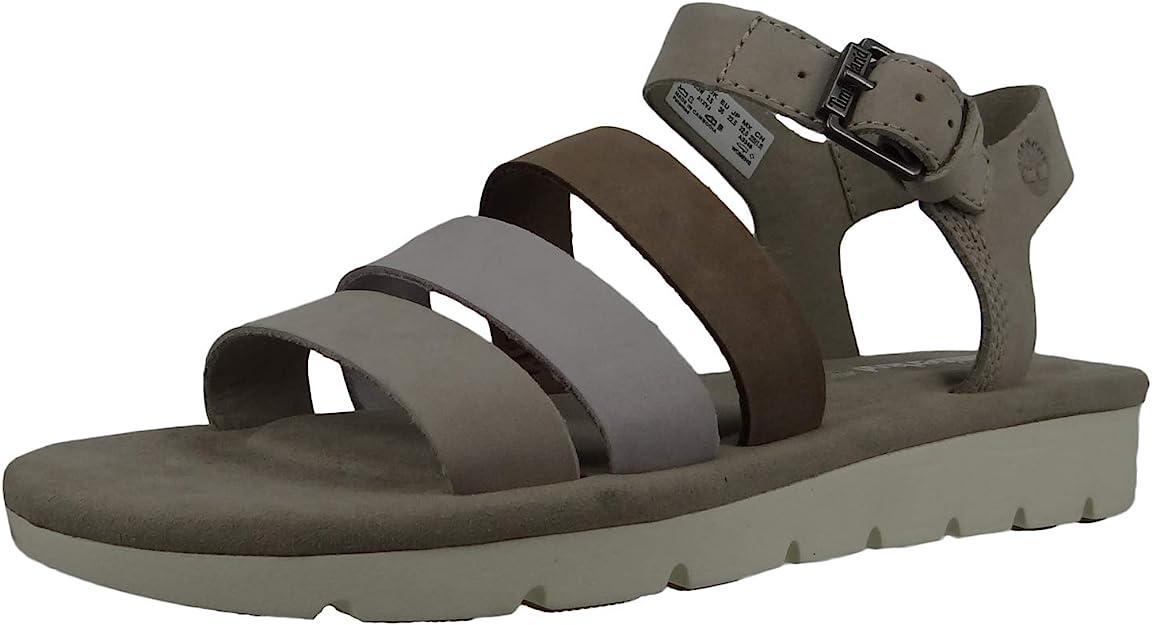 Problema sal Mula  Timberland A1XVJ Lottie Lou 3-band sandal women's sandals Simply Taupe  Beige Light Grey: Amazon.de: Schuhe & Handtaschen