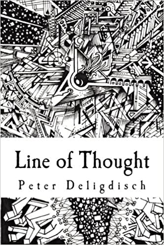Book's Cover of Line of Thought: An Art Collection by PeterDraws (Inglés) Tapa blanda – 23 agosto 2013