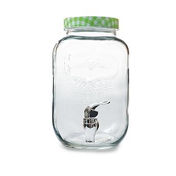 García de Pou 215.56 Dispensador Bebidas 4 L, Diámetro 15.5 x 25.3 cm, Set