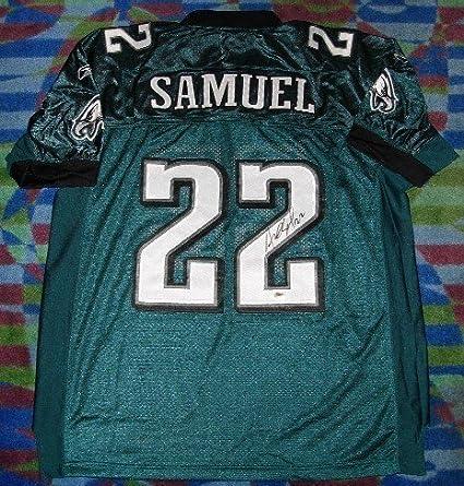 online store a82e2 6d665 Asante Samuel Autographed Philadelphia Eagles Authentic ...
