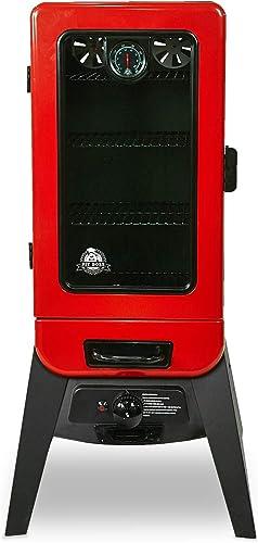 PIT-BOSS-77435-Vertical-Lp-Gas-Smoker,-Red
