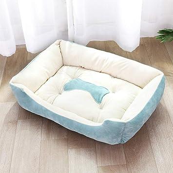 WeiSocket Deluxe - Sofá de Cama para Perro de Espuma viscoelástica Antideslizante, Tela Oxford, Suave Terciopelo, 90 x 70 x 15 cm: Amazon.es: Productos para ...