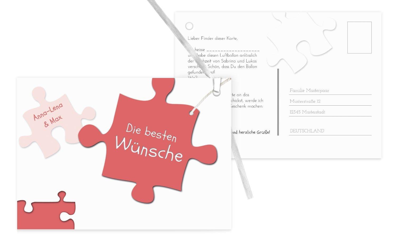 Karten-paradies Karten-paradies Karten-paradies Ballonkarte Puzzleteile, 90 Karten, KräftigHellMarineblau B07CQGRD39   Abrechnungspreis    Professionelles Design    Deutschland Shops  4f493f