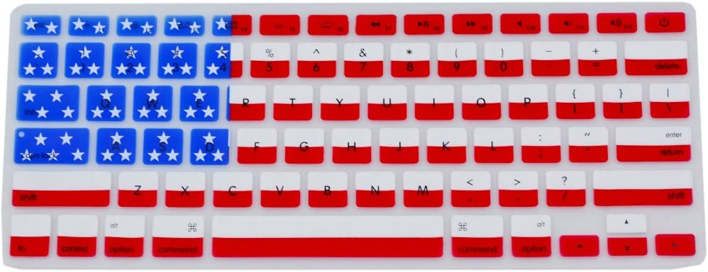 iMac and MacBook Air 13 Keyboard Cover Silicone Skin for MacBook Pro 13 15 17 with or Retina Display Canada Flag