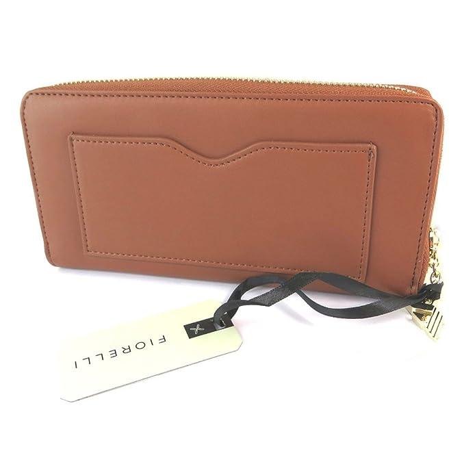 Fiorelli [N9154 Compagnon zippé marron tan 20x10x2 cm