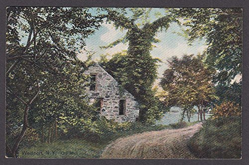 Westport NY Old Mill postcard 1910s