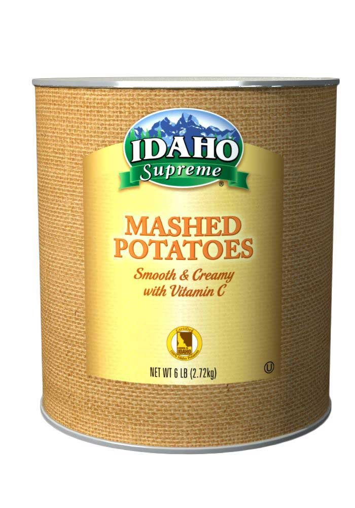 Idaho Supreme Mashed Potato Granules with Vitamin C, 6 Pound - 6 per case.