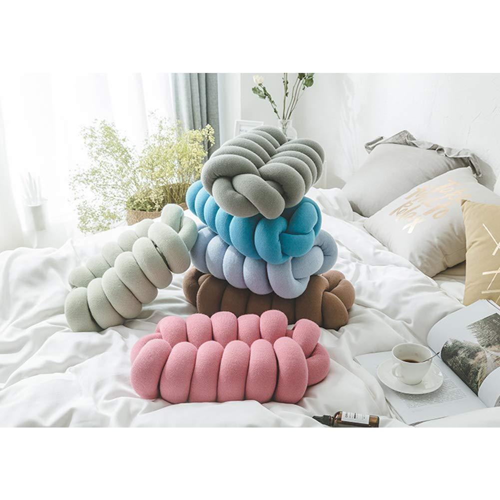 Amazon.com: Nicedeal - Cojín de nudo trenzado para sofá ...