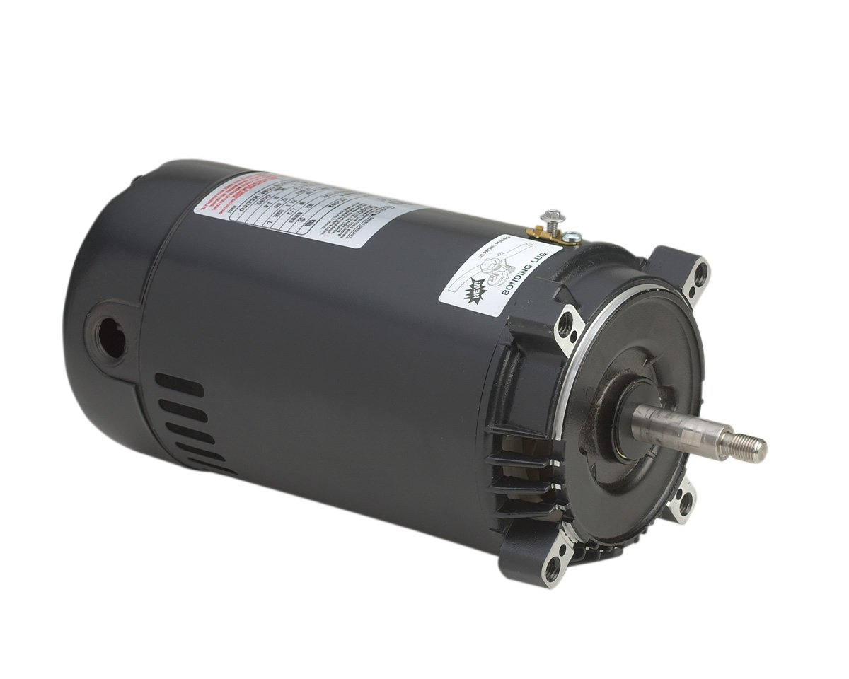 A.O. Smith ST1052 1/2 HP, 3450 RPM, 1.6 Service Factor, 56J Frame, Capacitor Start, ODP Enclosure, C-Face Pool Motor